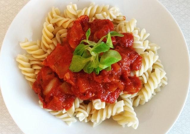tomato based pasta