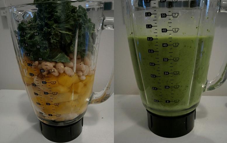 vegan mass gainer smoothie