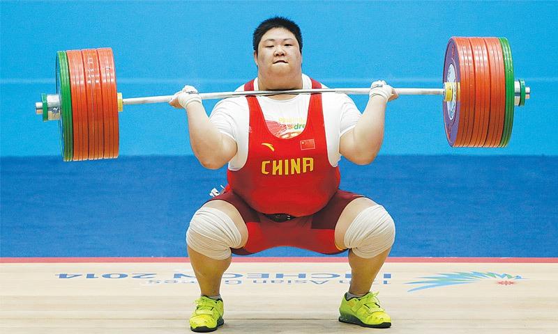 zhou lulu female weightlifter