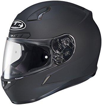 HJC Solid Mens CL-17 Full Face Motorcycle Helmet