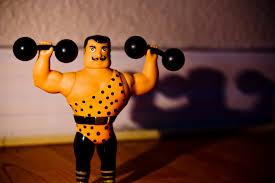 plastic strongman