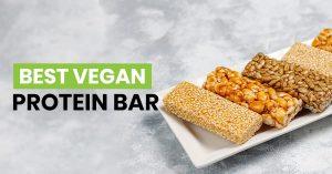 Best vegan protein bar featured image