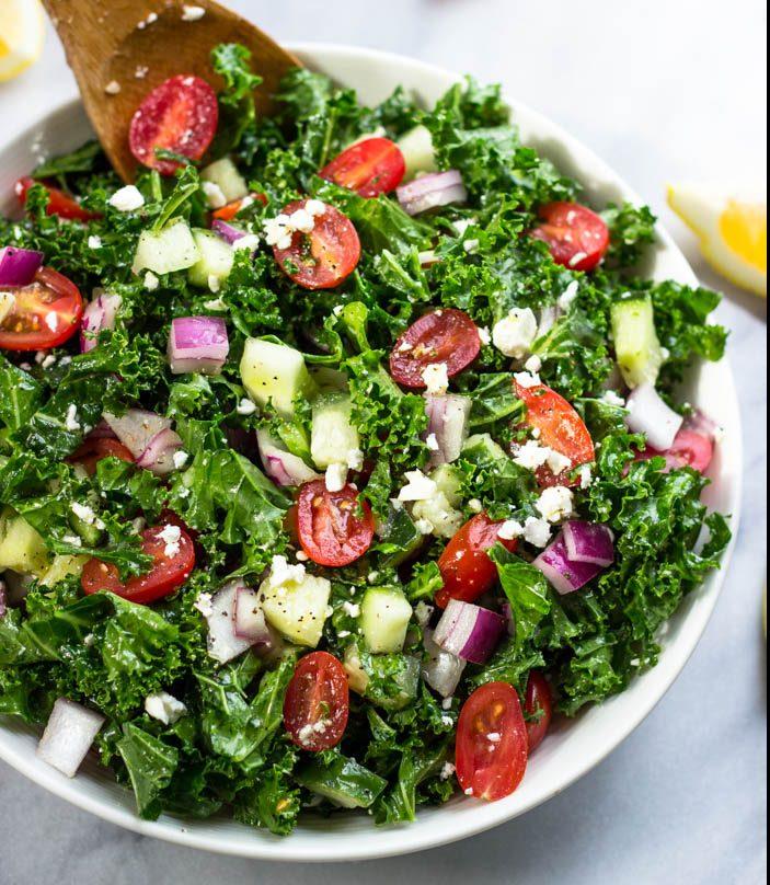 salad for vegan diet plan