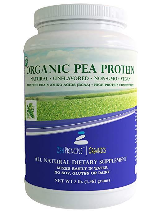 Zen Principle Organic Pea Protein Powder