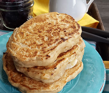 Pancakes vegan recipe