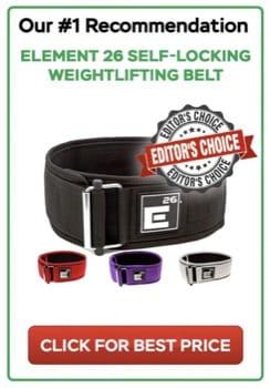 Element 26 weightlifting belt