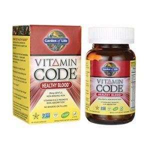 Garden Of Life Healthy Blood Iron Supplement Sidebar