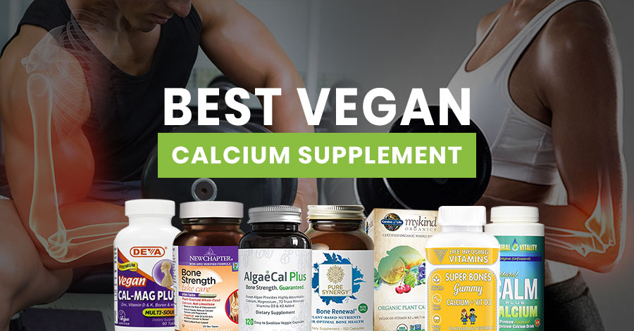Best Vegan Calcium Supplement Featured Image