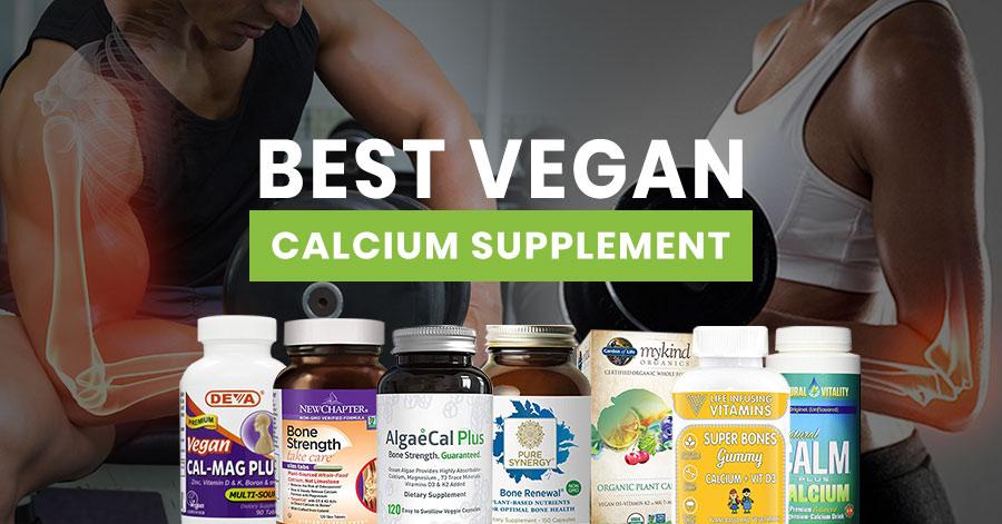 Best Vegan Calcium Supplement Featured Image