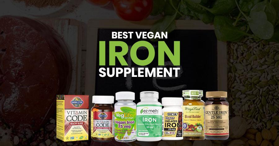 Best Vegan Iron Supplement Featured Image