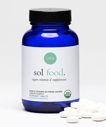 Ora Organic Vegan Vitamin D Supplement