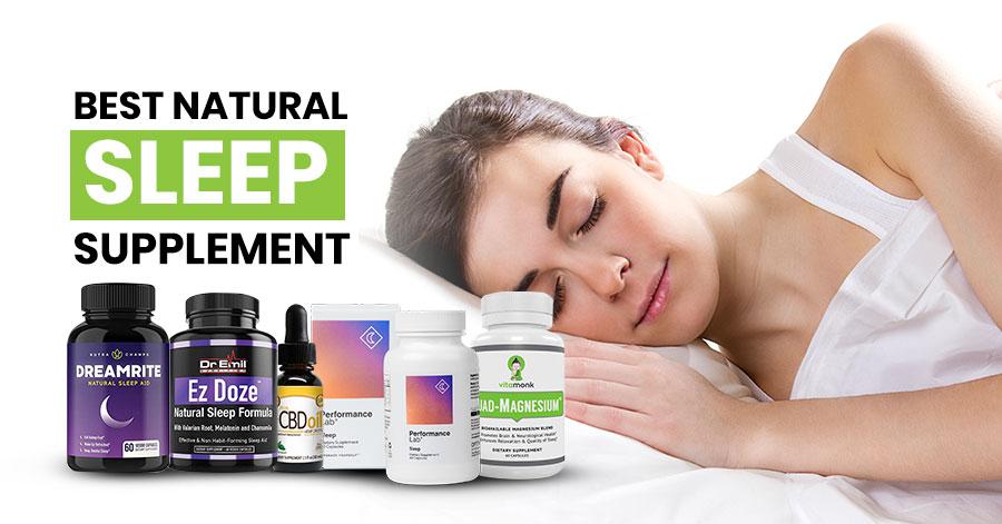 Best Natural Sleep Supplement Featured Image