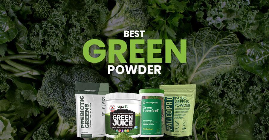 Best Greens Powder Featured Image
