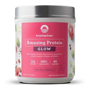 Amazing Grass GLOW Vegan Protein Powder Sidebar