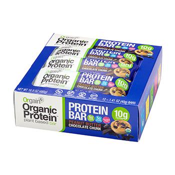 Orgain Organic Protein Bars