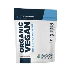 Transparent Labs Organic Vegan Protein  Sidebar