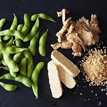 Tofu, Tempeh, and Edamame
