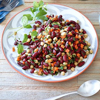 D Chickpeas and Beans
