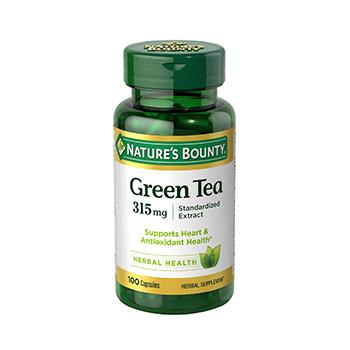 Natures Bounty green tea extact supplement