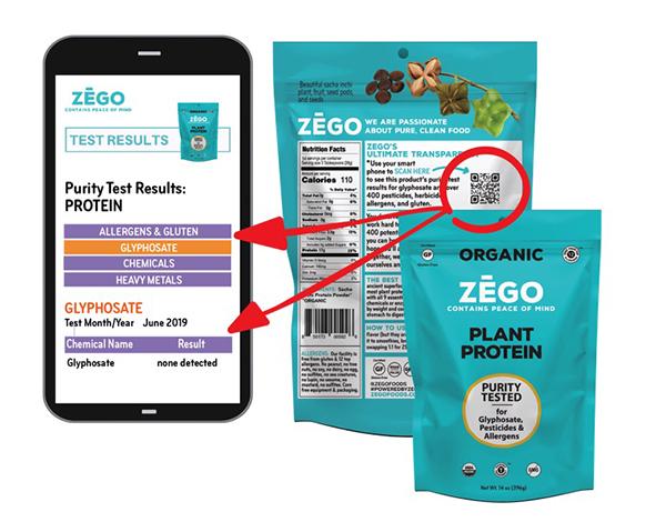 Zego QR code