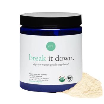 Ora Organic Plant-Based Digestive Enzymes-350