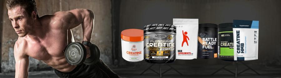All Creatine Supplements FAQ Banner