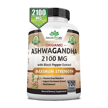 NaturaLife Labs Organic Ashwagandha Product