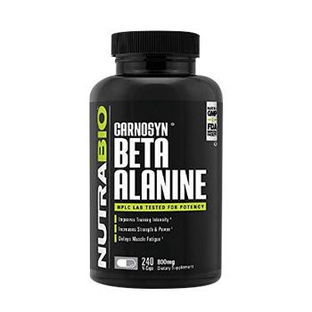 NutraBio Beta-Alanine Capsules Product