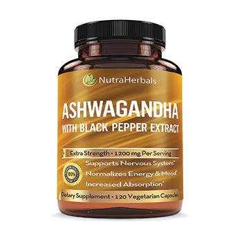 NutraHerbals Organic Ashwagandha Extract Product