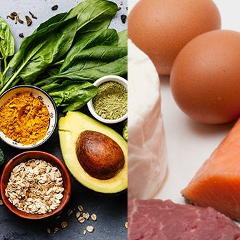 Vegetables, Seeds, Nuts, Eggs, Meat Etc.