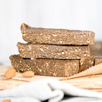 Vegan Hemp Protein Bars With Almonds