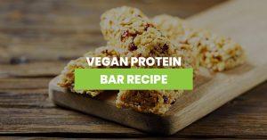 Vegan Protein Bar Recipe Featured Image