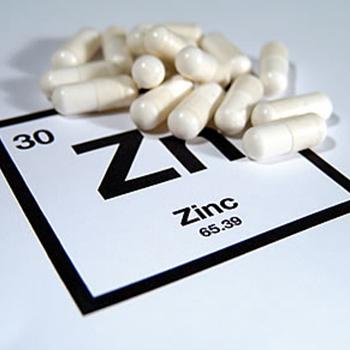 Zinc Pills and Periodic Symbol