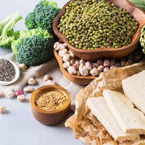 various food in bowl