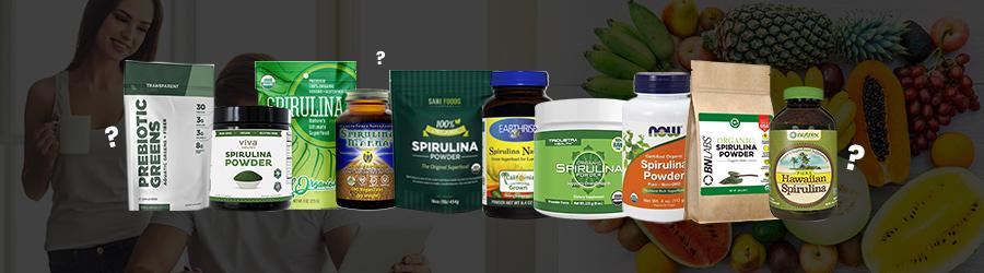 Best spirulina FAQ Banner