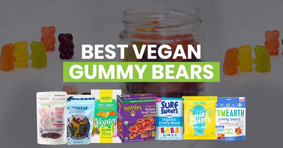 Best vegan gummy bears featured image