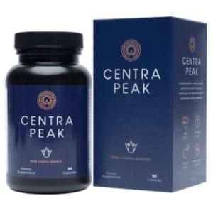 Centrapeak Product Box and Bottle
