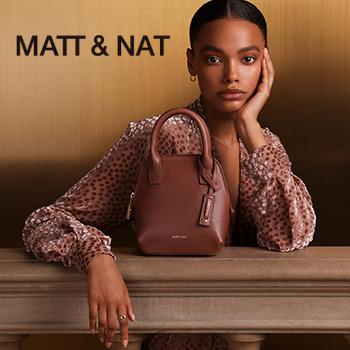 Woman with Matt & Nat Purse