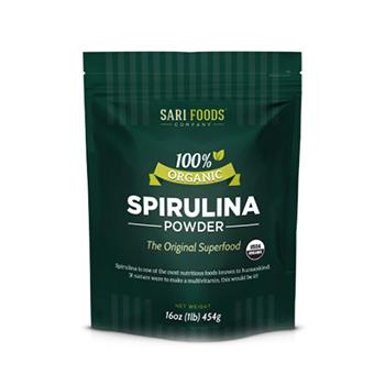 Sari Foods Organic Spirulina Product