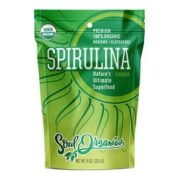 Soul Organics Spirulina Product