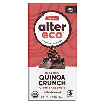 Alter Eco Dark Quinoa Crunch Product