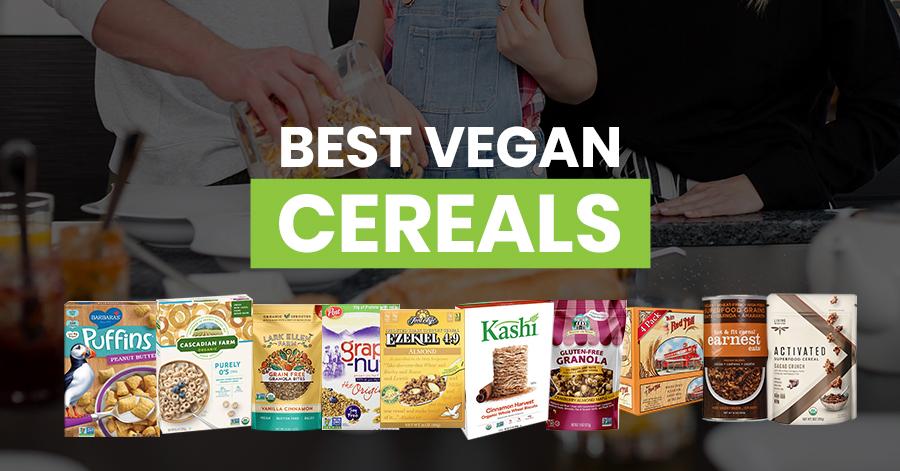 Best Vegan Cereals Featured Image