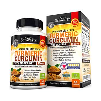 BioSchwartz Turmeric Curcumin Product