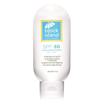 Block Island Organics Natural Mineral Sunscreen Product