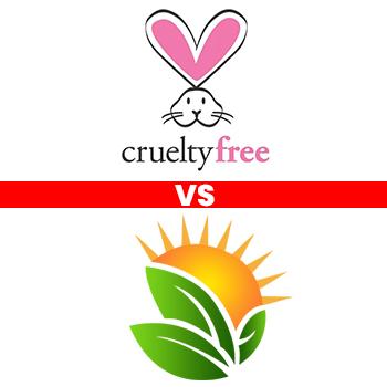 Cruelty-Free Vs. Vegan Sunscreen Logos