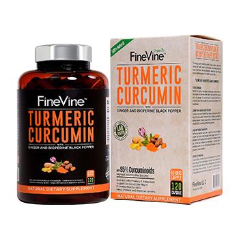 FineVine Turmeric Curcumin Product