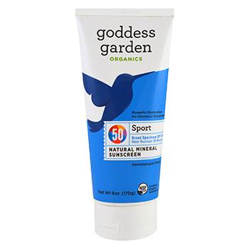 Goddess Garden Sport SPF 50 Mineral Sunscreen Lotion Product