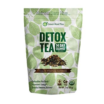 Green Root Tea Organic Green Detox Tea Product