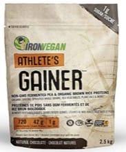 IronVegan Athlete's Gainer