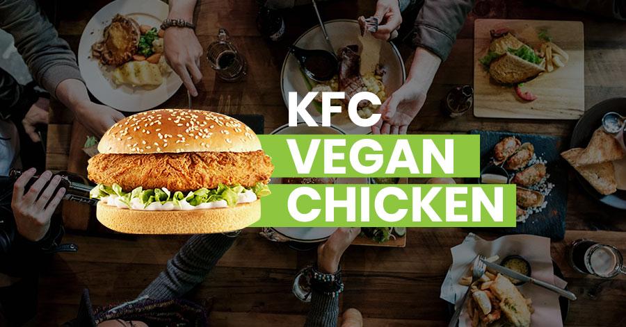 KFC vegan chicken featured image